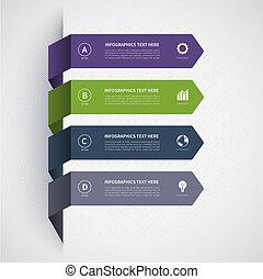 Modern minimalistic infographics banner - Modern...