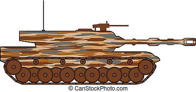 Modern heavy tank