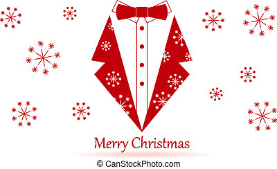 Conservative merry christmas - Nice crative color background