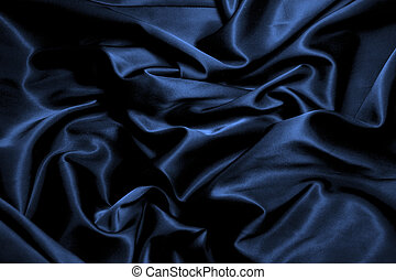 texture of  black silk