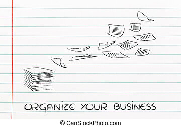 business documents: the importance of a good organization