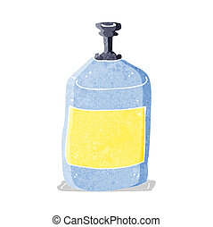 cartoon old squirt bottle