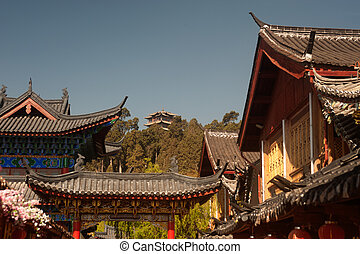 Historic town of Lijiang,UNESCO World heritage site in...