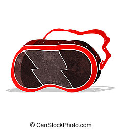 cartoon goggles