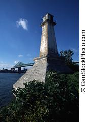 Lighthouse On Ile St-Helene