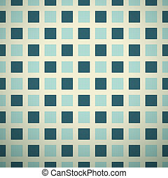 Elegant vector pattern (tiling). Retro blue and white...