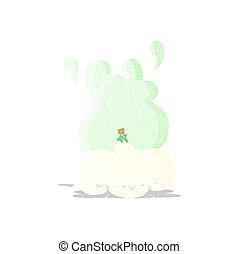 cartoon garlic