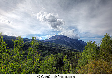 CO-outside of Ouray - This image was captured on an...