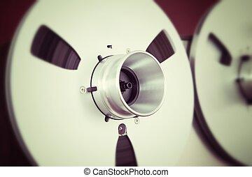 análogo, estéreo, abertos, bobina, fita,...