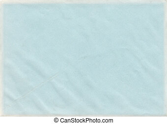 Baby Blue Paper - Baby blue color vintage paper with...
