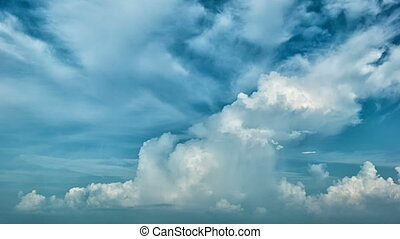 Picturesque sky with clouds. Timelapse - Video 1080p -...