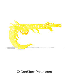 cartoon medieval dragon