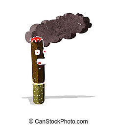 cartoon cigar