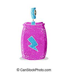 cartoon spray can