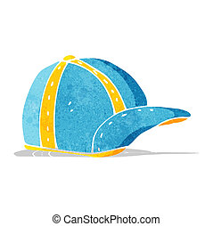 cartoon old school cap