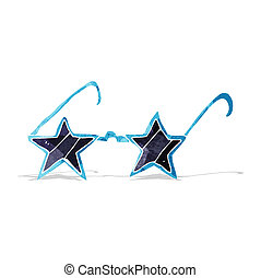 cartoon star sunglasses