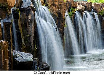 Tad Pha Souam Waterfall, Bajiang National Park, Paksa South Laos