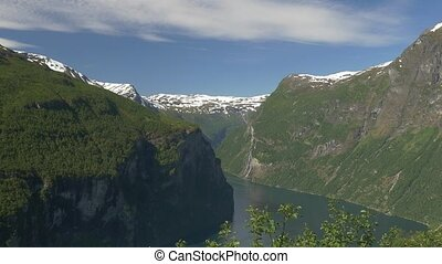 Geiranger Fjord, Norway - Nature Of Norway, Landscapes,...