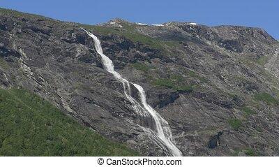 1080p, Waterfall, Mardalsfossen, No - Nature Of Norway,...