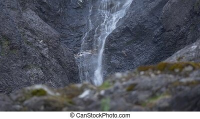1080p, Waterfall, Mardalsfossen, No - Nature Of Norway,...