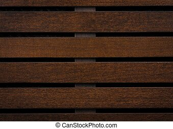 Wooden slats for background, wooden panel