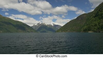 Norway, Boat Trip along the coast - Nature Of Norway,...