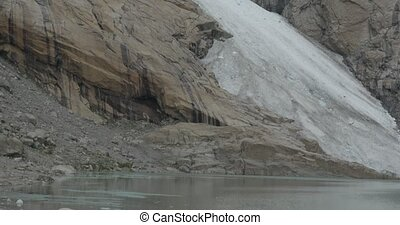 4K, Norway, Brikdalsbreen Glacier - Nature Of Norway,...