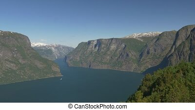 4K, Norway, Epic view on a Fjord - Nature Of Norway,...
