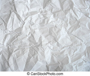 Texture of crumpled paper Vector illustration - Texture of...