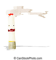 cartoon cigarette character