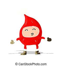 cartoon funny christmas character