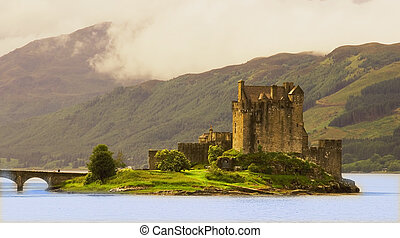 Eilean Donan Castle - Large, accessible, restored castle...