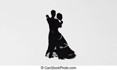 2d dancing animation - classic dancers loop animation