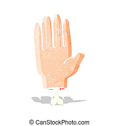 cartoon hand