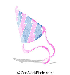 cartoon party hat