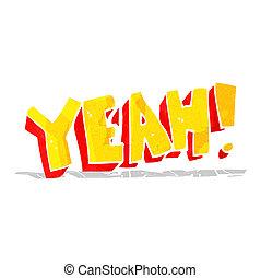 cartoon yeah! shout