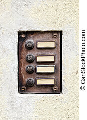 old doorphone