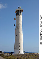 Lighthouse in Jandia Playa, Fuerteventura, Canary Islands Spain