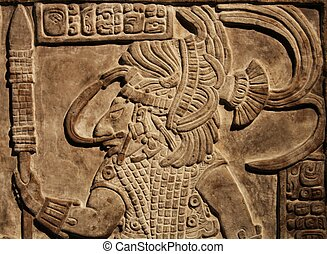 Maya - Relief