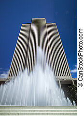 LDS main office building - The headquarters for The Church...