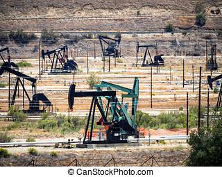Oil pump. Oil industry equipment - Oil pumps. Oil industry...