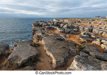 Cabo Carvoeiro near Peniche Portugal