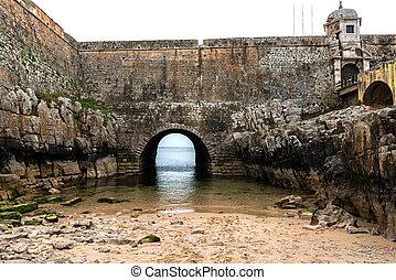 Fort of Peniche (Portugal) - Prison in Fort of Peniche...