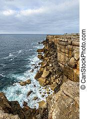 Cabo Carvoeiro near Peniche (Portugal)