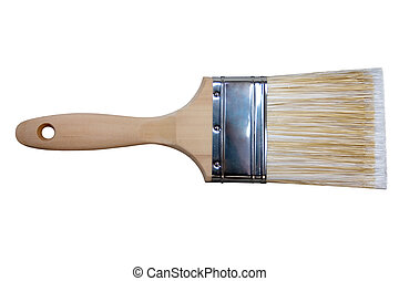 Paintbrush - a paintbrush on a white background