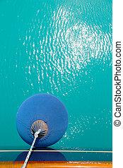 protective balloon for sail boat