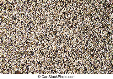 Sand small pebbled textured background