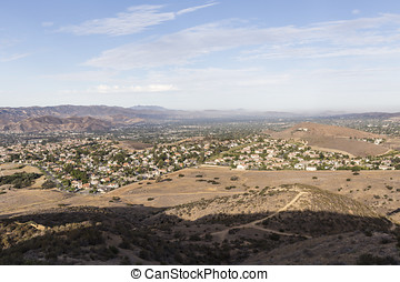 Simi Valley west of Los Angeles's San Fernando Valley in...