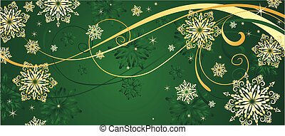 Christmas gold background