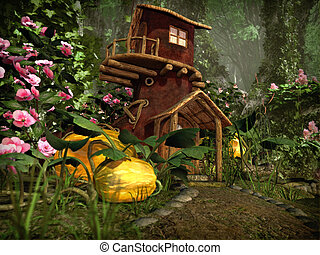 The Boot House, 3d CG - 3d computer graphics of a boot...